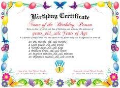 Iou Birthday Certificate Colorful Free Printable Iou Coupons Free Printables