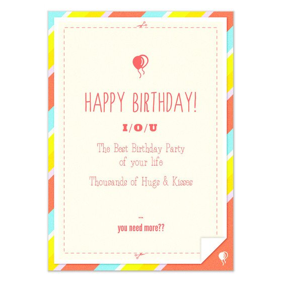 Iou Birthday Certificate Template Blog 99