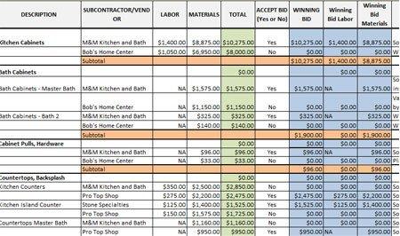 Itemized Fee Worksheet Excel Download the Itemized Bid Worksheet Excel Template for