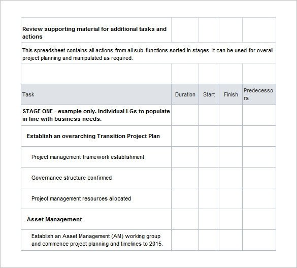 Job Transition Plan Template 9 Transition Plan Templates Free Word Pdf Documents