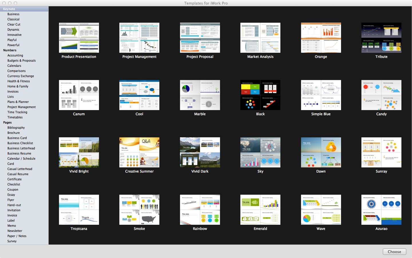 Keynote Templates for Mac Templates for Iwork Pro Mac