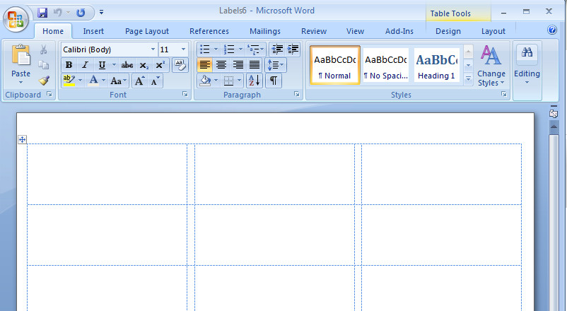 Label Template for Word How to Create Mailing Labels In Word