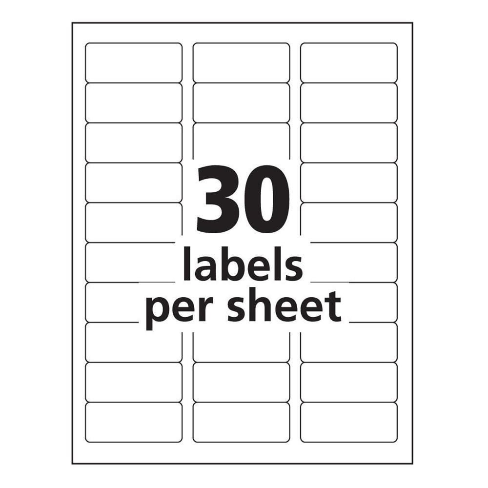 Label Templates In Word Avery 8160 Label Template Word Templates Data