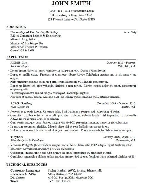 Latex Cover Letter Templates the 25 Best Latex Resume Template Ideas On Pinterest