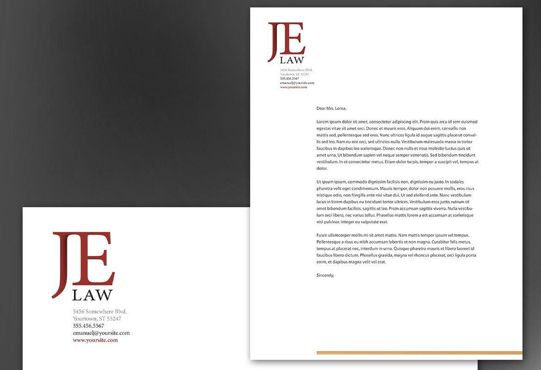 Attorney Letterhead Templates