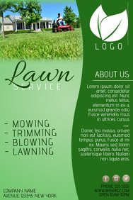 Lawn Care Flyer Template Word Customize 310 Lawn Service Flyer Templates