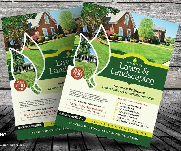 Lawn Care Flyer Template Word Lawn Care Flyers Templates Free Icebergcoworking