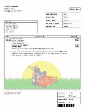 Lawn Care Proposal Template Free Lawn Care Invoice Design Templates Gopherhaul