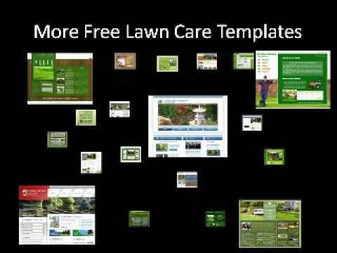 Lawn Care Website Template Free Lawn Care Website Templates