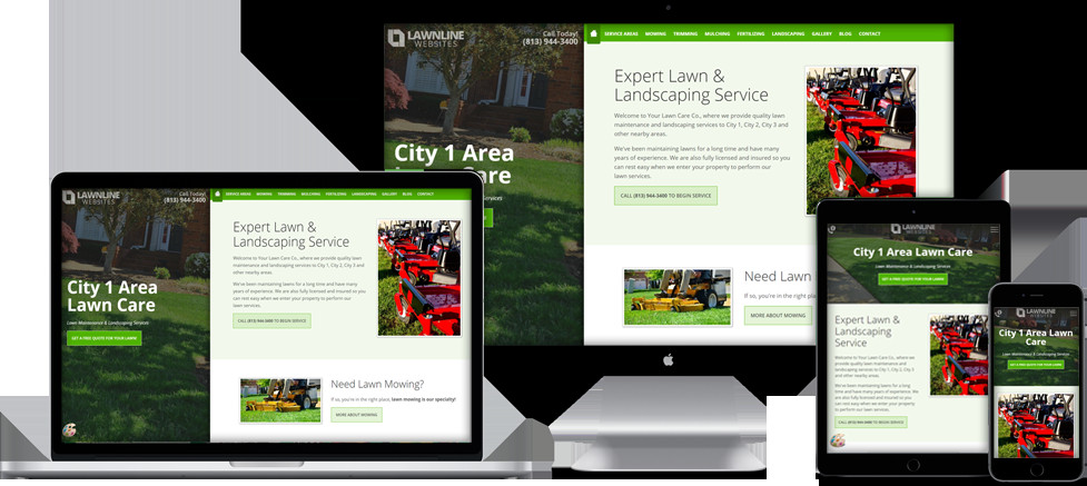 Lawn Care Website Template Website Templates for Lawn Care & Landscaping Panies