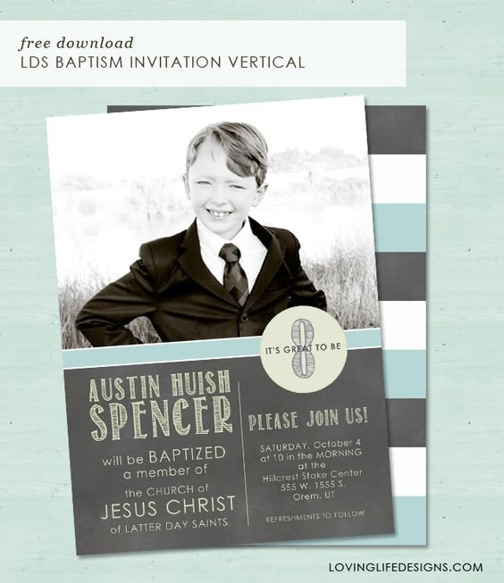 Lds Baptism Announcement Template Free Popular Lds and Graphics On Pinterest