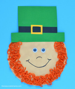 St Patrick s Day Leprechaun Craft for Kids The