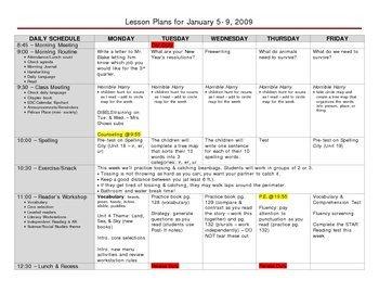 Lesson Plans Template Elementary Versatile Elementary Grade Lesson Plan Template by John