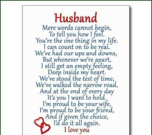 Letter to My Husband Love Letter to My Husband