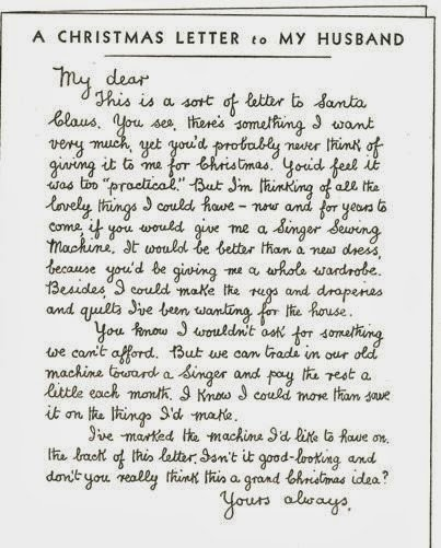 Letter to My Husband What I Found A Christmas Letter to My Husband 1934