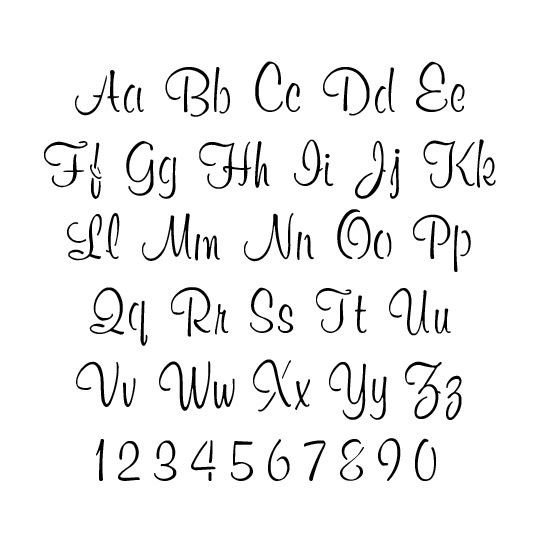 Letters Stencils to Print Letter Stencils Stencils Alphabet Stencils
