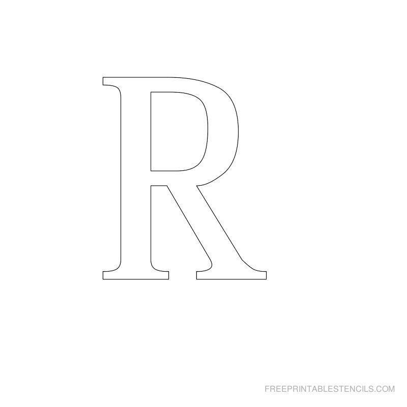 Letters Stencils to Print Printable Greek Letter Alphabet Stencils
