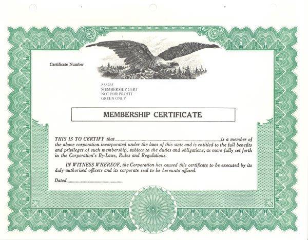Llc Member Certificate Template Standard Stock Certificates Samples