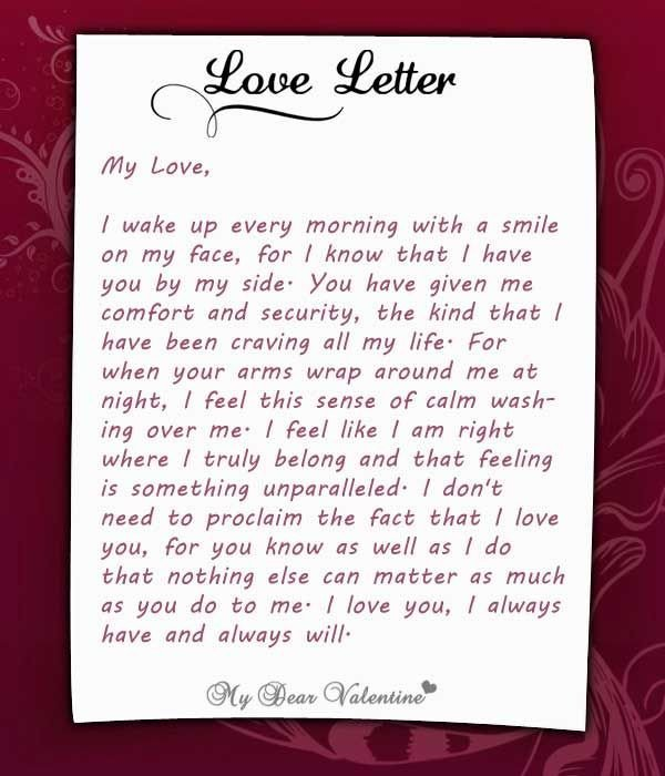 Love Letter to Fiance I Wake Up Every Morning with You at My Side