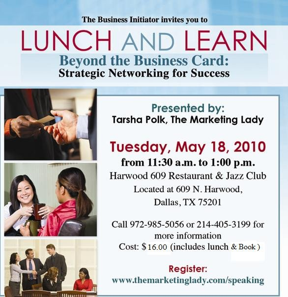 Lunch and Learn Invitations Lunch & Learn Tickets