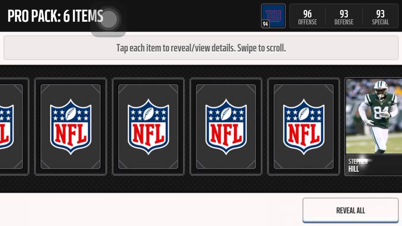 Madden Mobile Card Template 1million Madden Mobile Coin Giveaway and Easter Promo