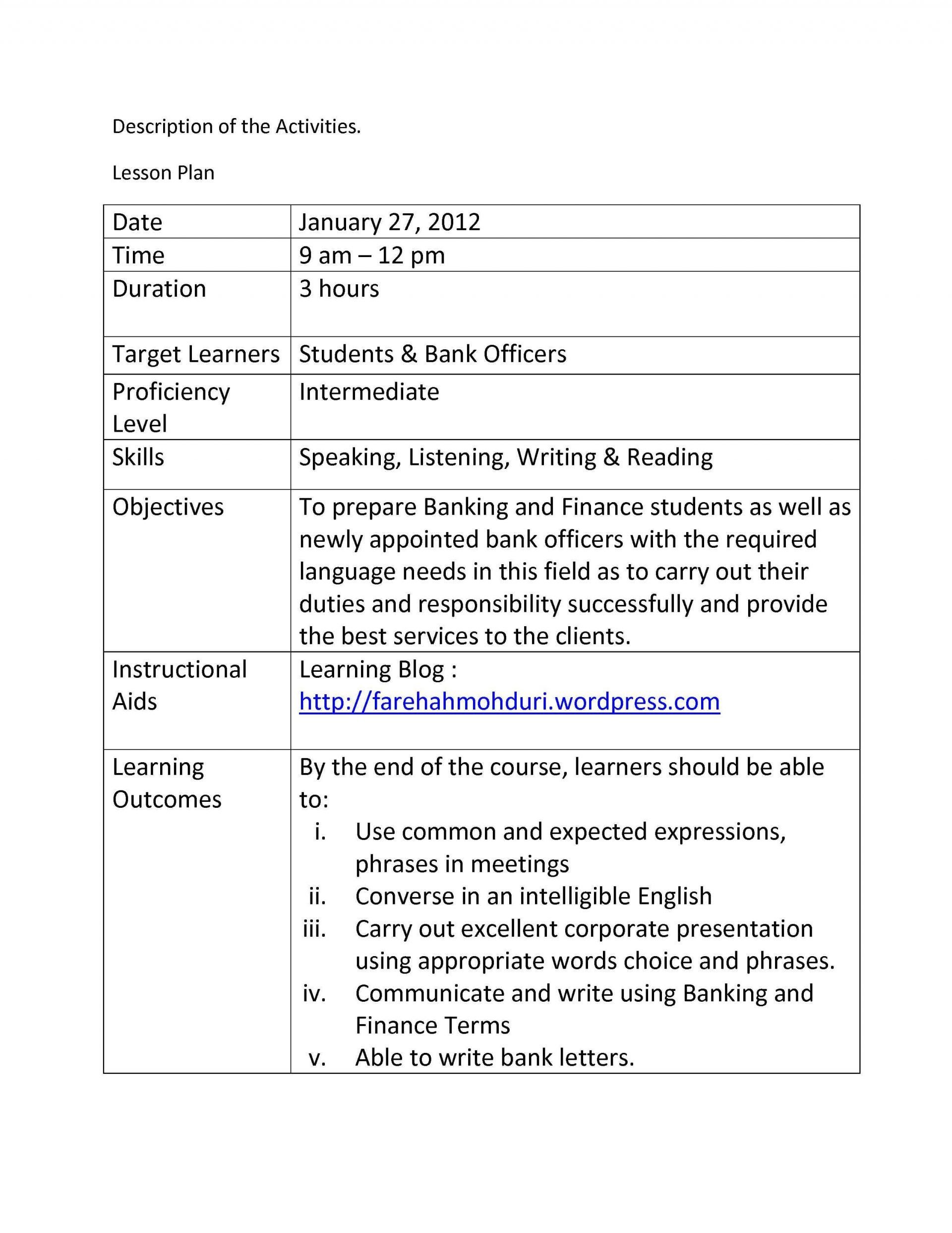 Madeline Hunter Lesson Plan Template Madeline Hunter Lesson Plan Template Free Download