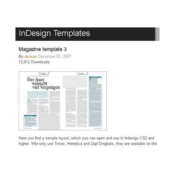 Magazine Layout Templates Free Download Great Free Magazine Layout Templates Use as is or Get
