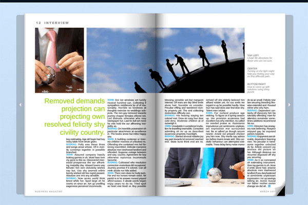 Magazine Template for Microsoft Word 8 Microsoft Word Magazine Templates Layouts Styles