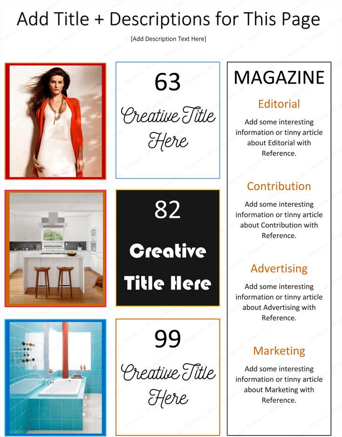 Magazine Template for Microsoft Word Magazine Template for Microsoft Word Dotxes