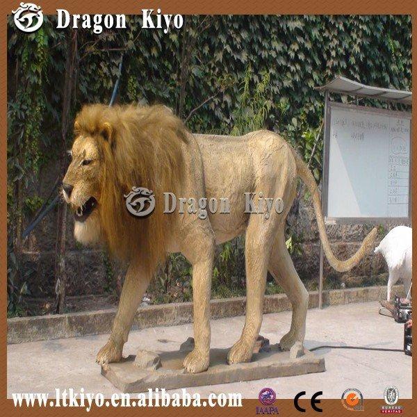 Mammoth P Free Sample 2015 Life Size Mammoth Animatronic Animal Lion for Sale