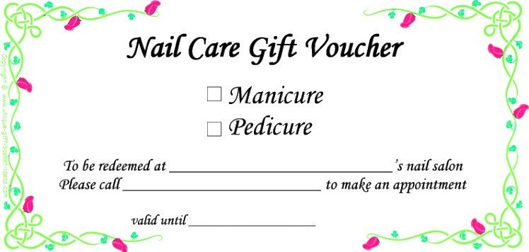 Mani Pedi Gift Certificate Template Gift Ideas for Mom A Recharge Gift Kit for the Worn Out Mom