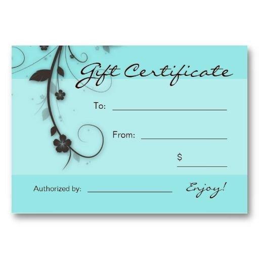 Mani Pedi Gift Certificate Template Manicure and Pedicure Gift Certificate Template Gift Ftempo