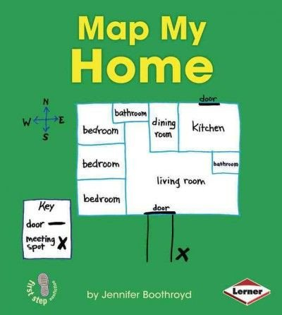 Map Key Template Teaches Young Readers How to Create A Basic Map Of their