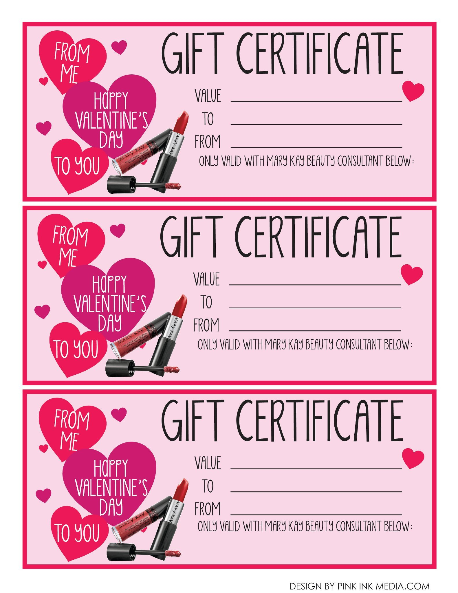 Mary Kay Gift Certificates Pdf Education – Virnau S Victors