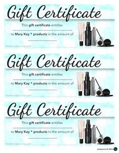 Mary Kay Gift Certificates Pdf Qt Fice Has Designed Sharp and Trendy Mary Kay T