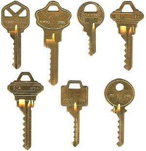 """Master Lock Bump Key Template 7 """"starter"""" Bump Key Set Bump Key Sets Probumpkeys"""