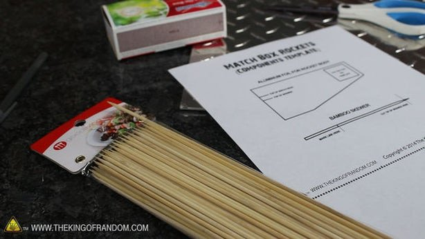 Matchbox Rockets Template How to Make A Matchbox Rocket Launching Kit 4