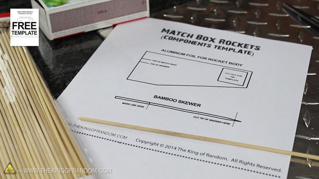 Matchbox Rockets Template How to Make A Matchbox Rocket Launching Kit