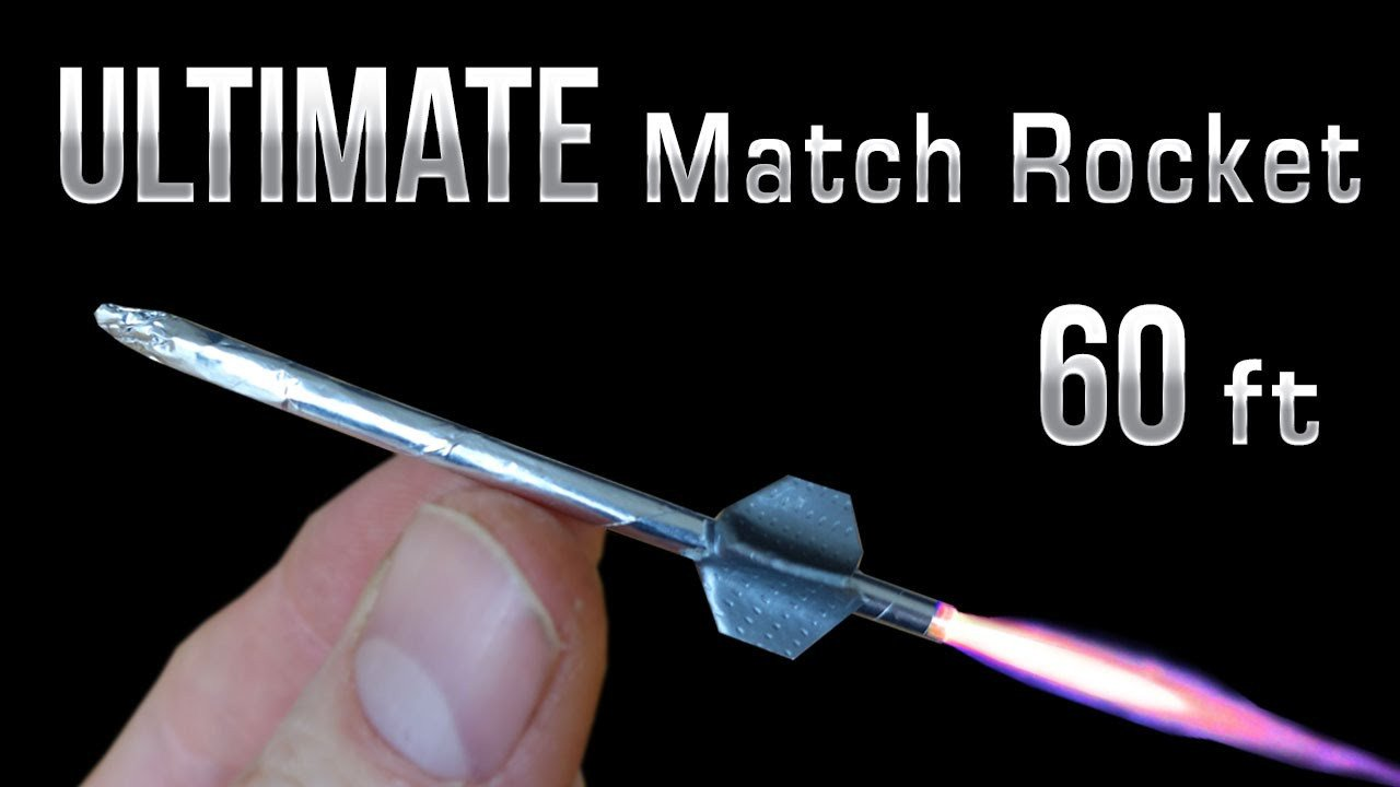 Matchbox Rockets Template Match Rocket 60 Foot Ultimate Matchbox Rocket