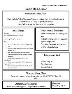 Math Lesson Plan Template 2 organized Apples Classroom solutions for Grades 3 5