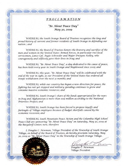 Mayoral Proclamation Template 29 Of Blank Proclamation Template Honoring someone