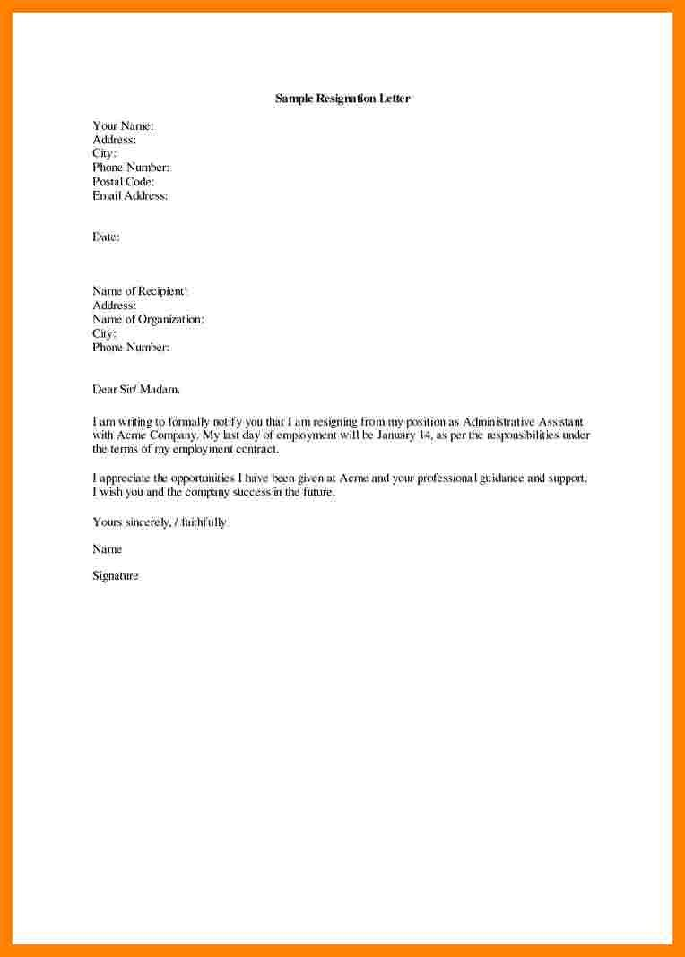 Medical assistant Resignation Letter 7 Resignation Letter Medical assistant