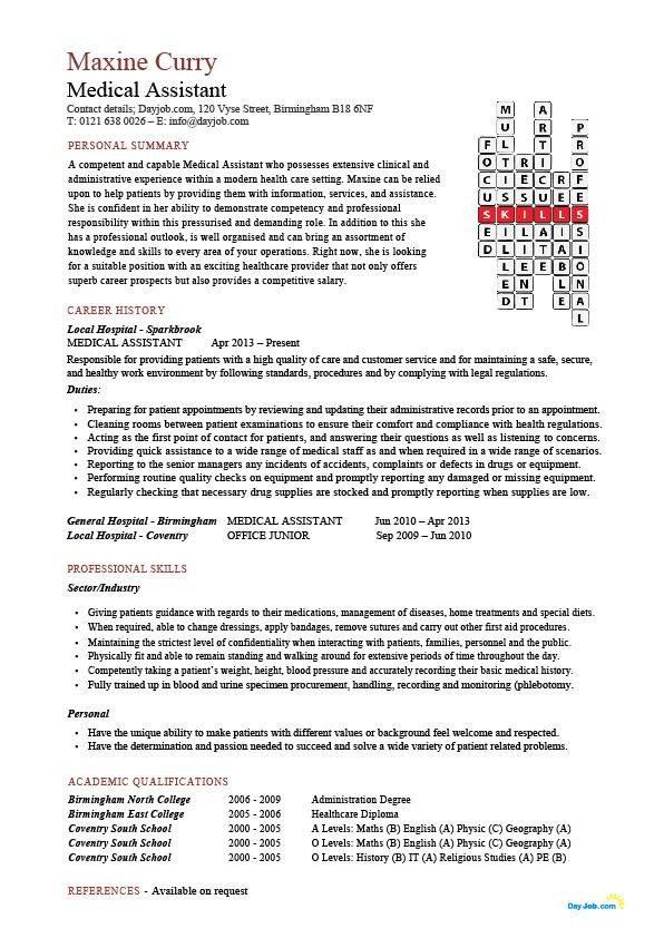 Medical assistant Resume Templates 24 Best Medical assistant Sample Resume Templates Wisestep