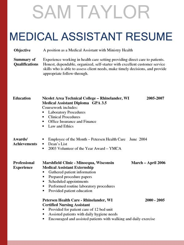Medical assistant Resume Templates How to Write A Medical assistant Resume In 2016