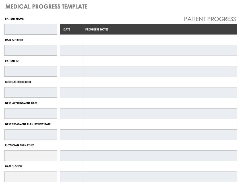 Medical Problem List Template Free Medical form Templates