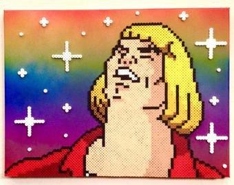Meme Pixel Art Grid Meme Art – Etsy