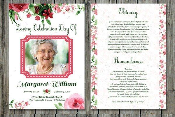Memorial Card Template Free Download Funeral Prayer Cards Templates Free Download Aashe