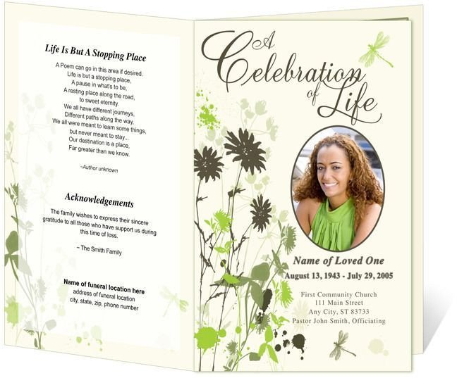 Memorial Services Program Template Best 25 Memorial Service Program Ideas On Pinterest