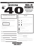 Michelin Rebate form Pdf Michelin Rebate form Printable Pdf