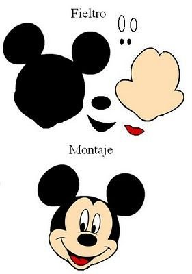 Mickey Mouse Face Template 25 Best Ideas About Mickey Mouse Head On Pinterest